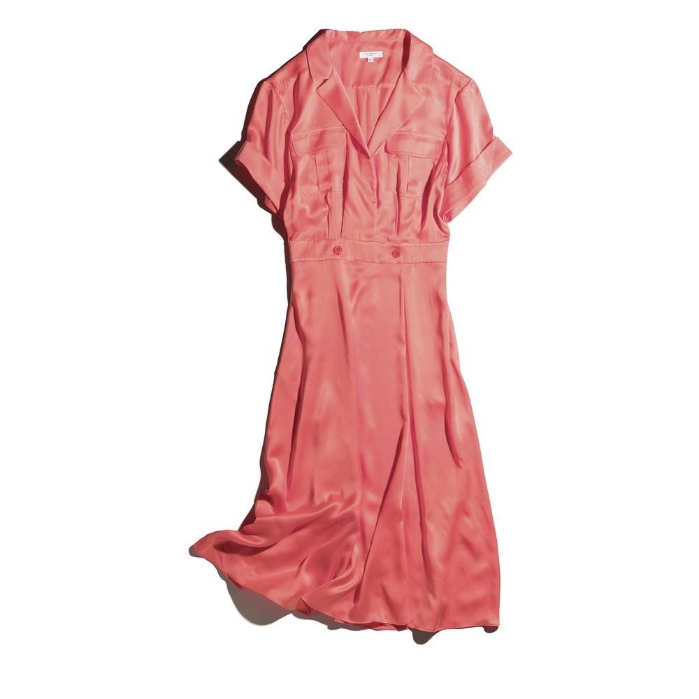 ファッション エキップモンのシャツワンピース