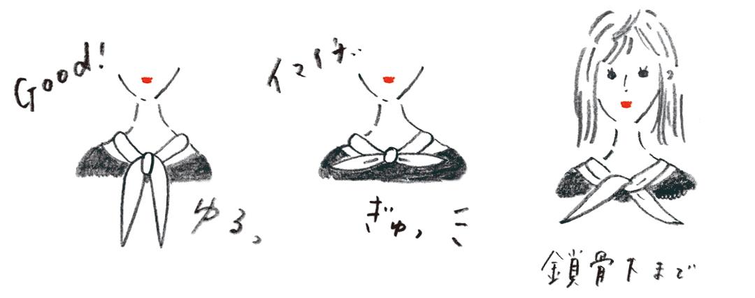 渡邉理佐のトレンド小物★ ヴィンテージライクなスカーフ、どう使うとおしゃれ?_1_6