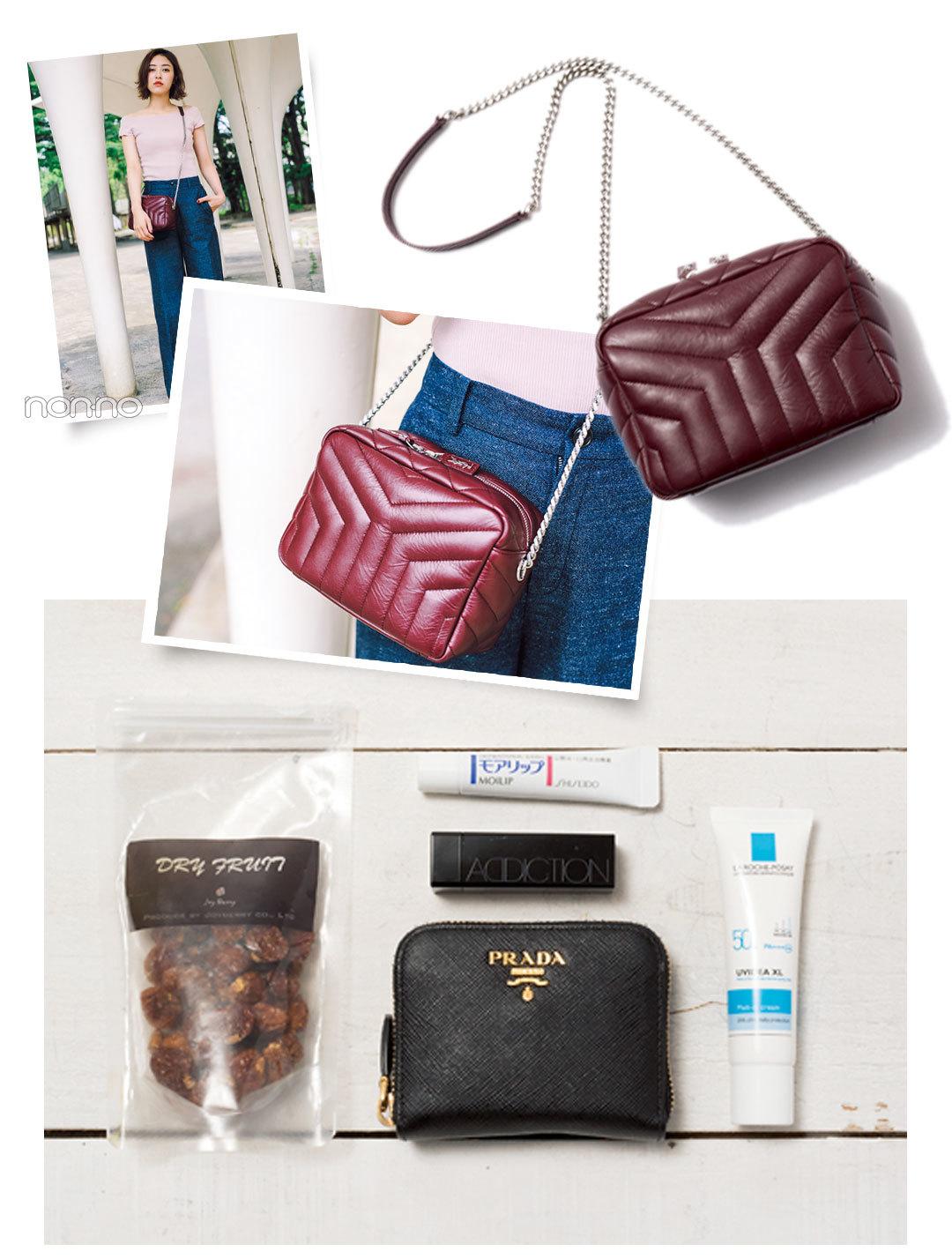 ノンノモデルのバッグとバッグの中身をのぞき見! サンローランのバッグも登場♡_1_1-4