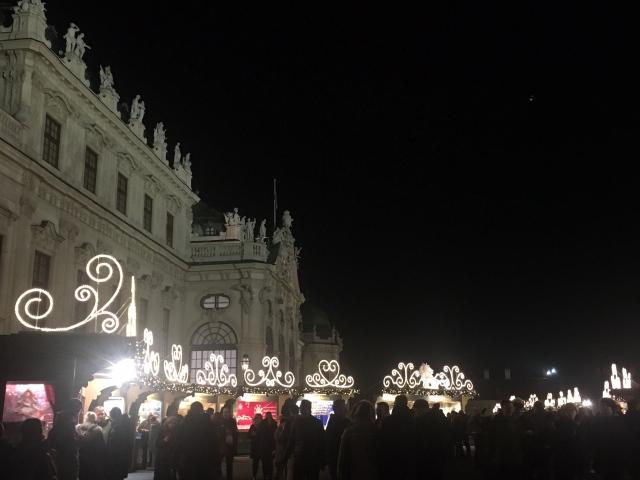 ウィーンのベルヴェデーレ宮殿のクリスマスマーケット_1_7