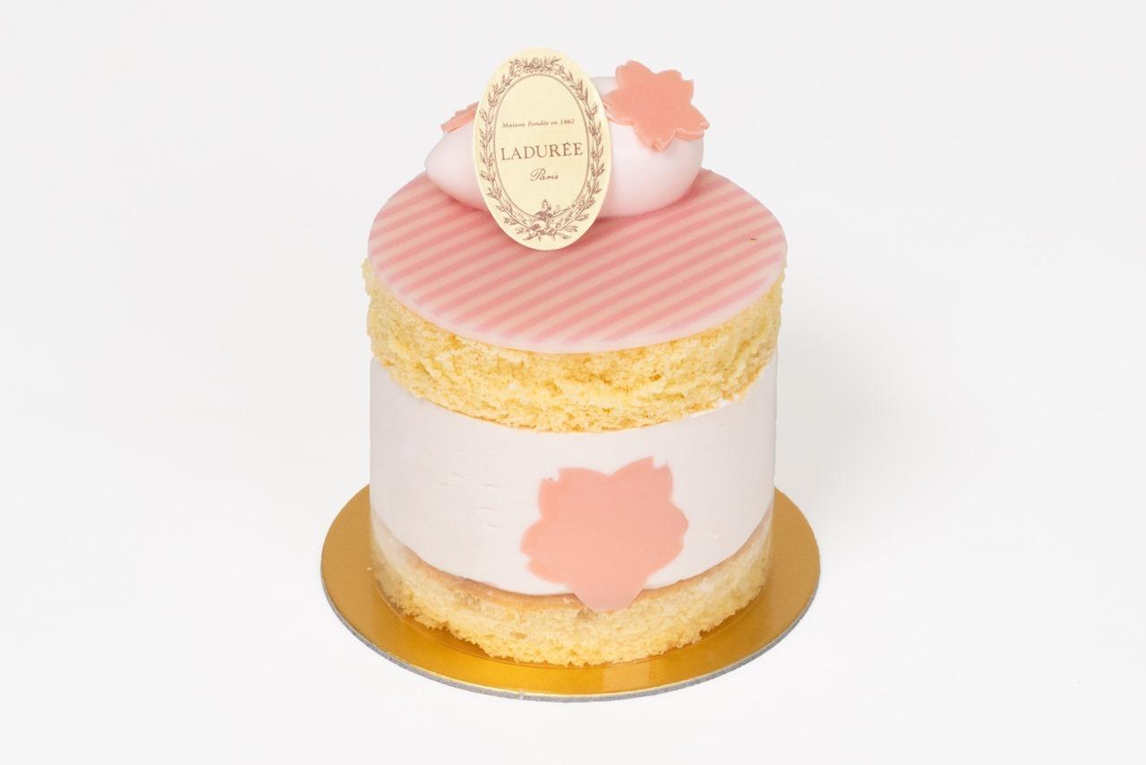 ラデュレ(LADURÉE)ショートケーキ・サクラ