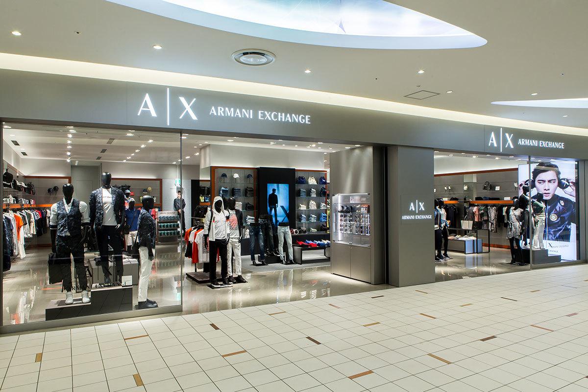 A|Xアルマーニ エクスチェンジ新店がダイバーシティ東京プラザにオープン_1_2