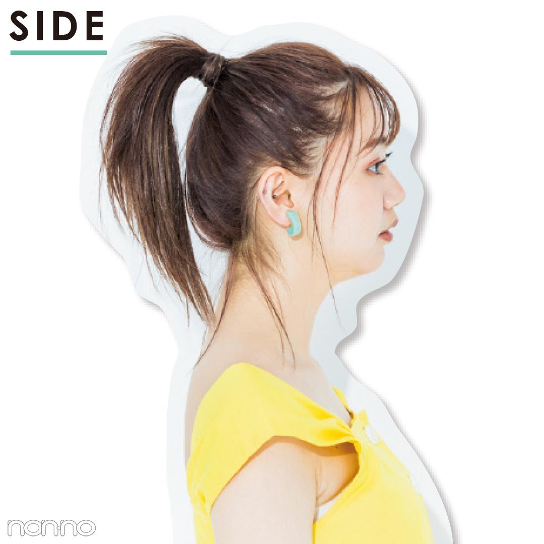【前髪×ひとつ結びヘアアレンジ図鑑①】透け前髪×ポニテのベストバランスは?_1_4-1