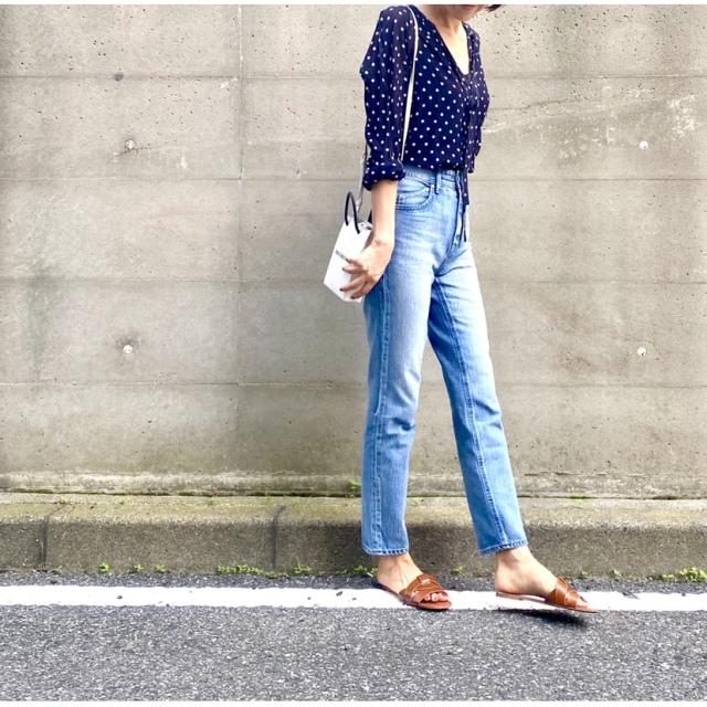 ぺたんこ靴でも足長。最強の夏デニム_1_3