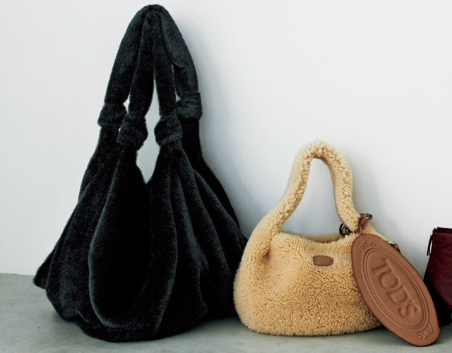 村山佳代子さんがおすすめするファーバッグ