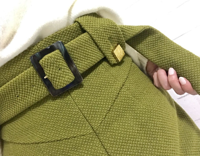 """通勤服。大好き""""アカネウツノミヤ""""のスカートでキレイ色コーデ_1_2"""