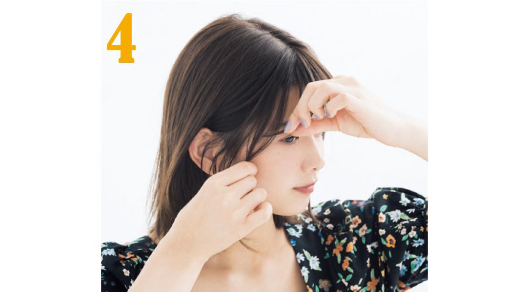 渡邉理佐が実践★前髪の簡単ナチュラルな巻き方はコレ!_1_7