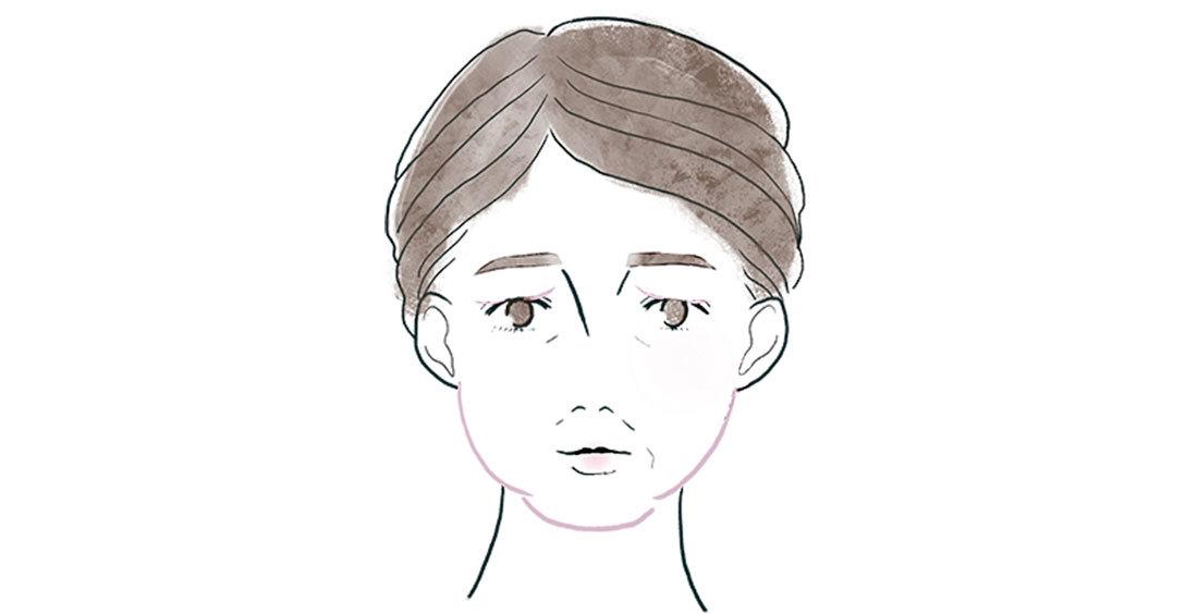 アラフォーの顔の〝たるみ〞2_2
