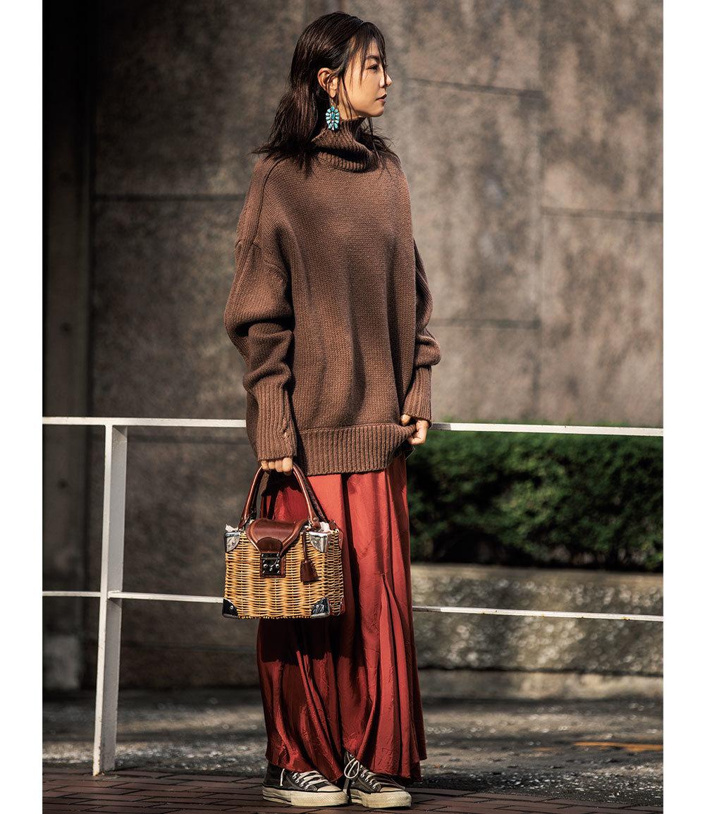 """モデル五明祐子「""""きれい色""""の華やかさが気分!」【My Life,My Fashion!】_1_2-3"""