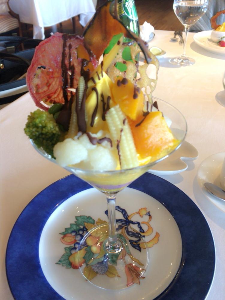 Westin Hotel Tokyo♡リーズナブルな野菜のフレンチコース_1_6