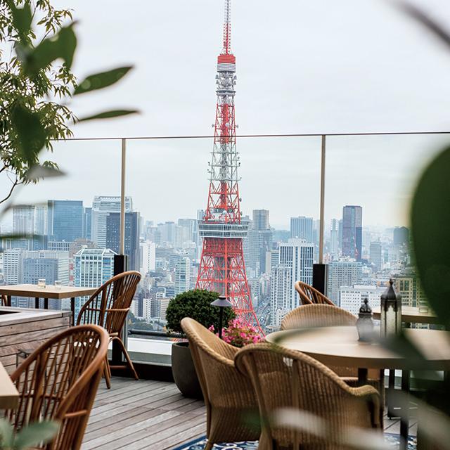 スペシャリティレストラン「ジェイド ルーム + ガーデン テラス」