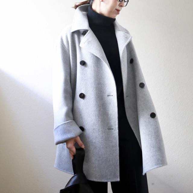 身長低めさんに嬉しいトレンド「ショート丈コート」! 今年の特徴&着こなしのコツは?【小柄バランスコーデ術#02】_1_9