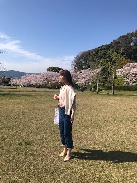 桜満開!お花見コーデ_1_3