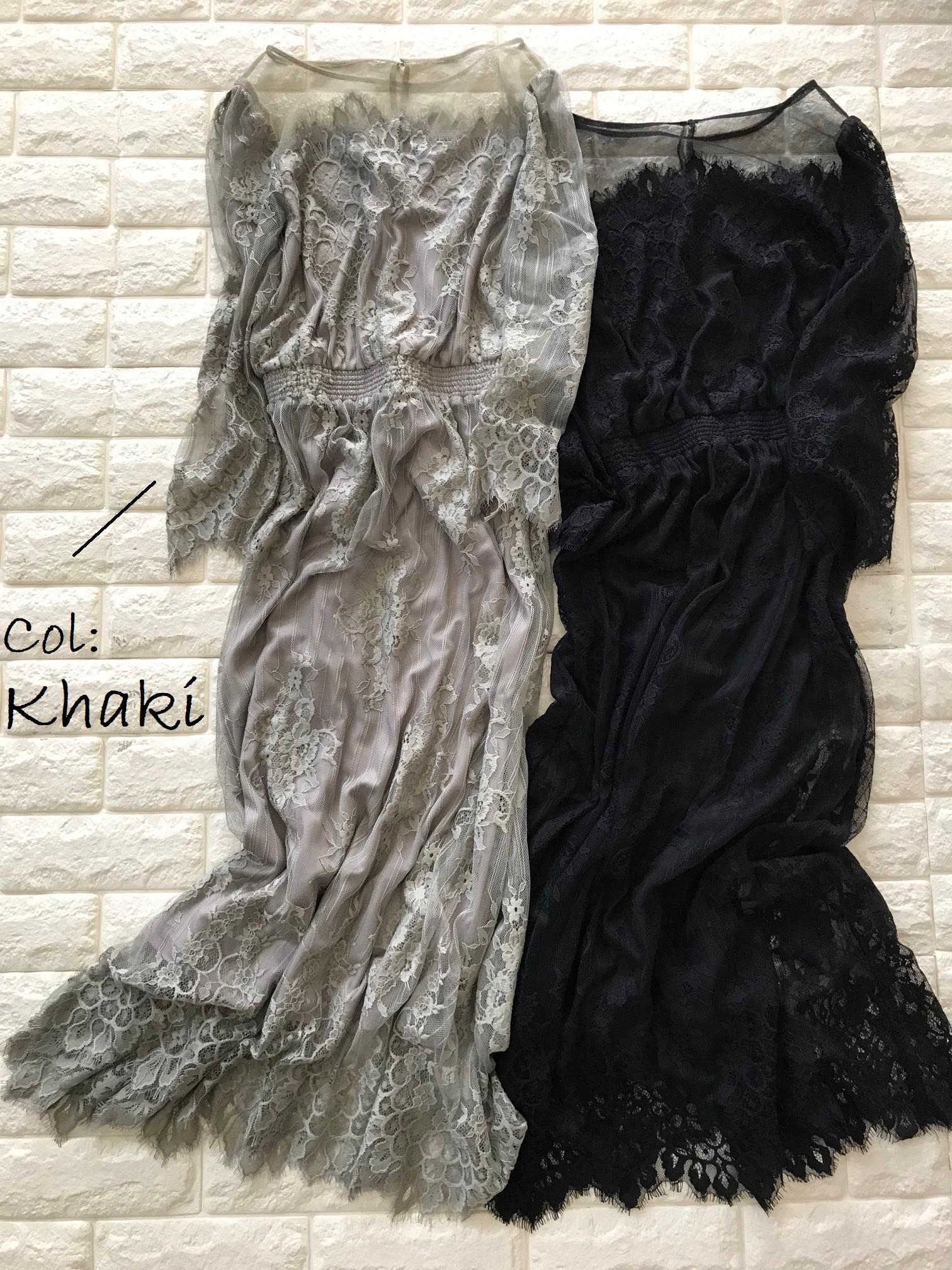ロペピクニックレースドレスの色違い画像