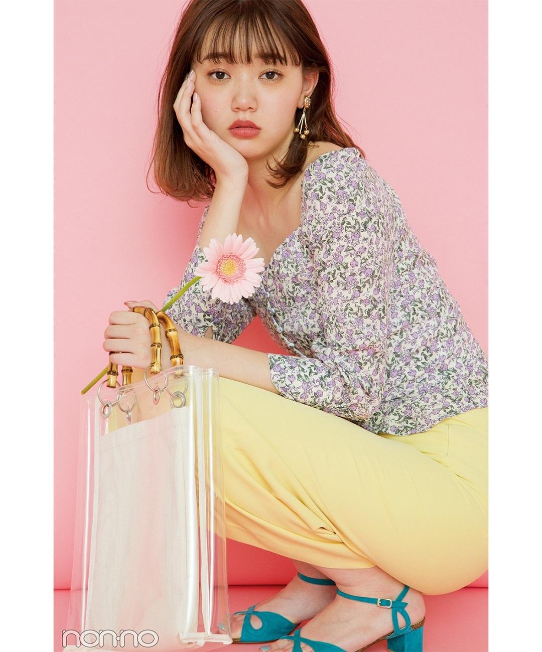 【夏のサンダルコーデ】江野沢愛美はレトロな韓国ファッションに注目♡
