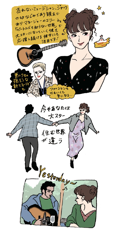 『映画の中の愛すべき女子図鑑』イラストギャラリー_1_9