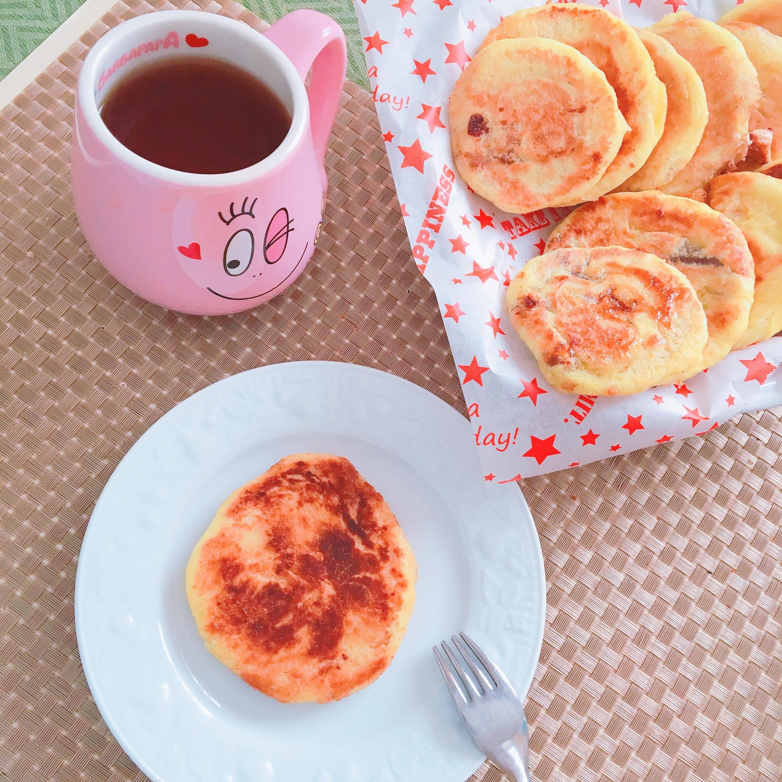 紅茶とホットク♡
