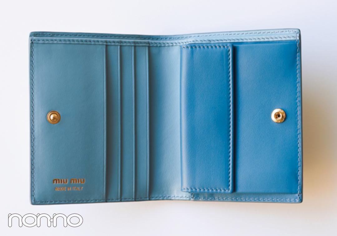 大人可愛いの大本命♡ ミュウミュウのミニ財布をチェック!【20歳からの名品】_1_3-5