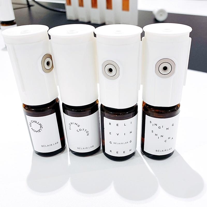 ベレアラボのアロマディフューザー用のフレグランスオイル