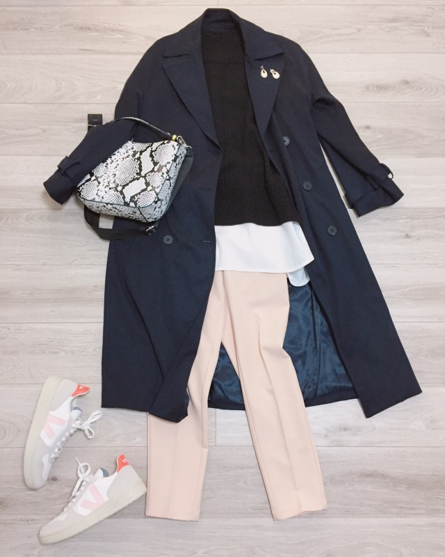 大人の白スニーカー更新☆VEJA【momoko_fashion】_1_3-2
