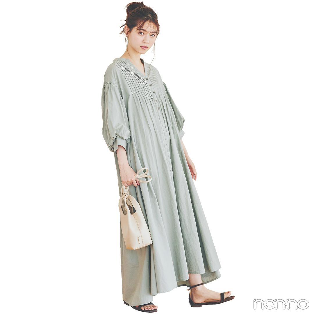 透け感シャツ&グラデスカートでリラックススタイルをアプデ【毎日コーデ】_1_2-2