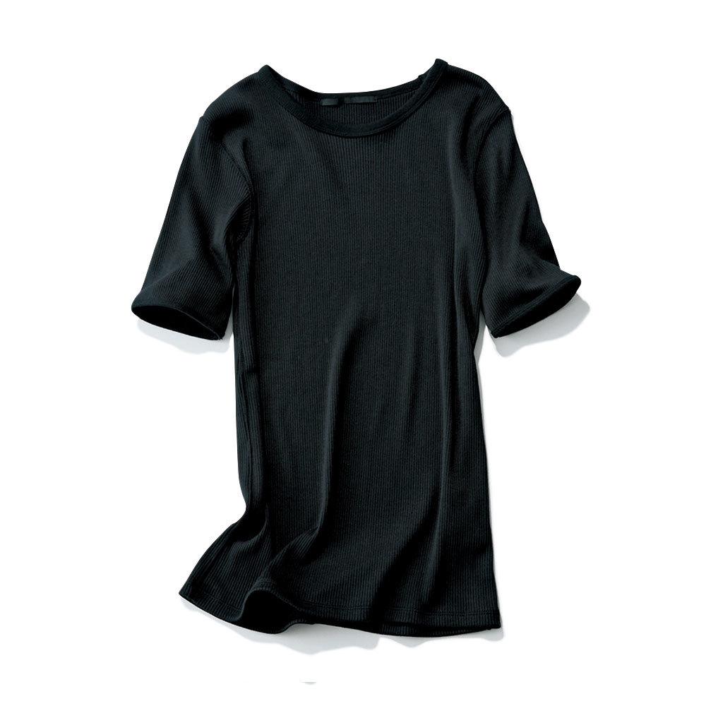 おしゃれプロがリコメンド!スカートに合う「リブTシャツ」_1_1-3