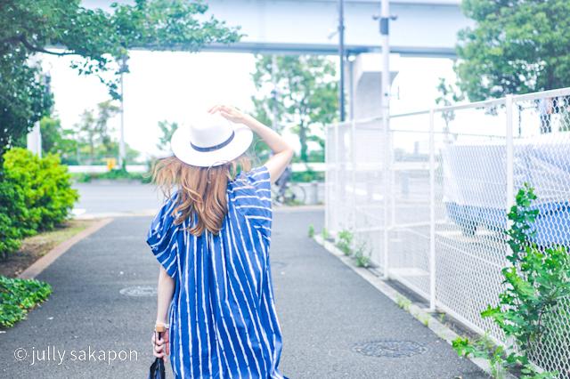 【さかぽんの冒険】初夏のお台場 あじさい散策_1_5