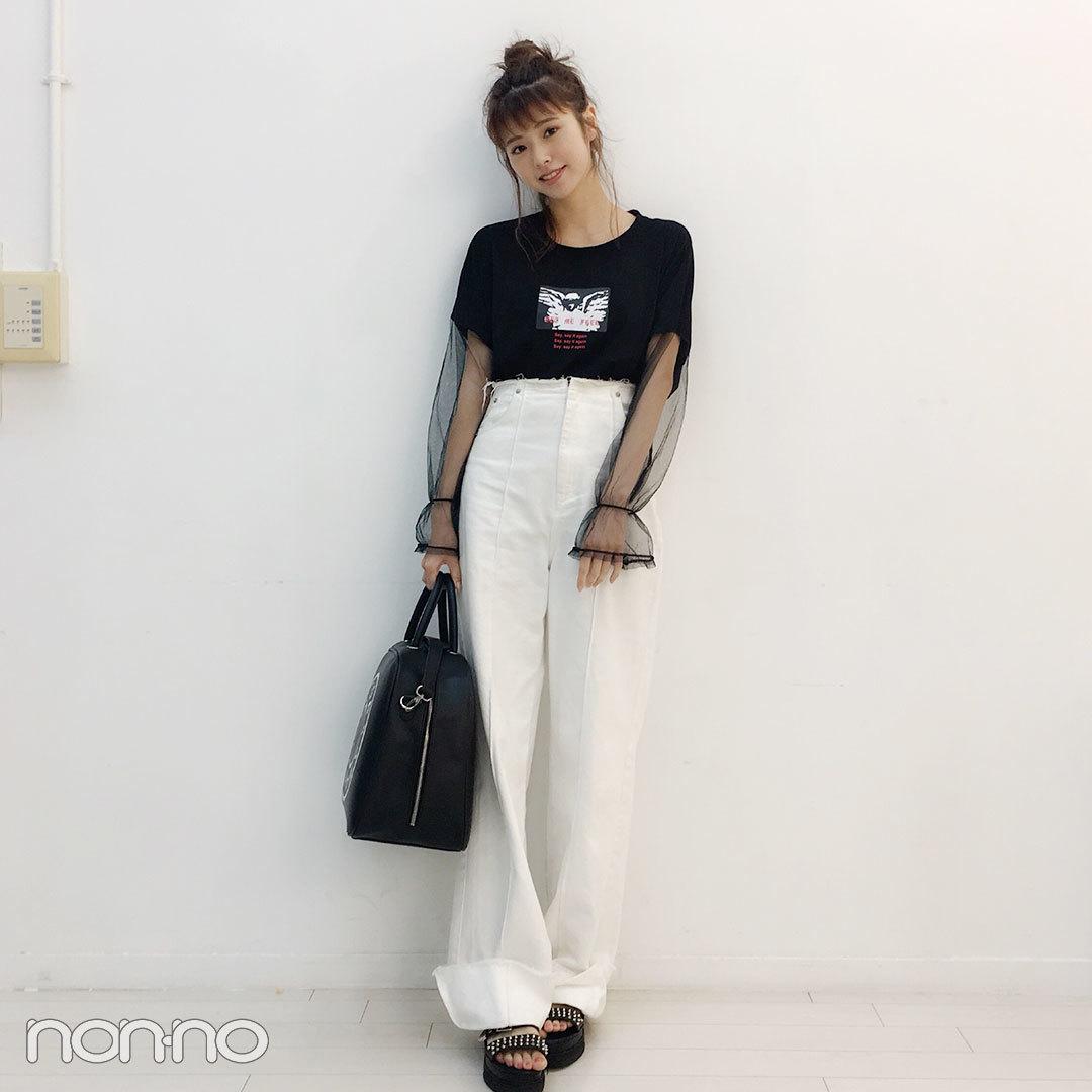 鈴木優華のプチ旅コーデはサマンサベガのバッグが相棒♡【モデルの私服スナップ】_1_1