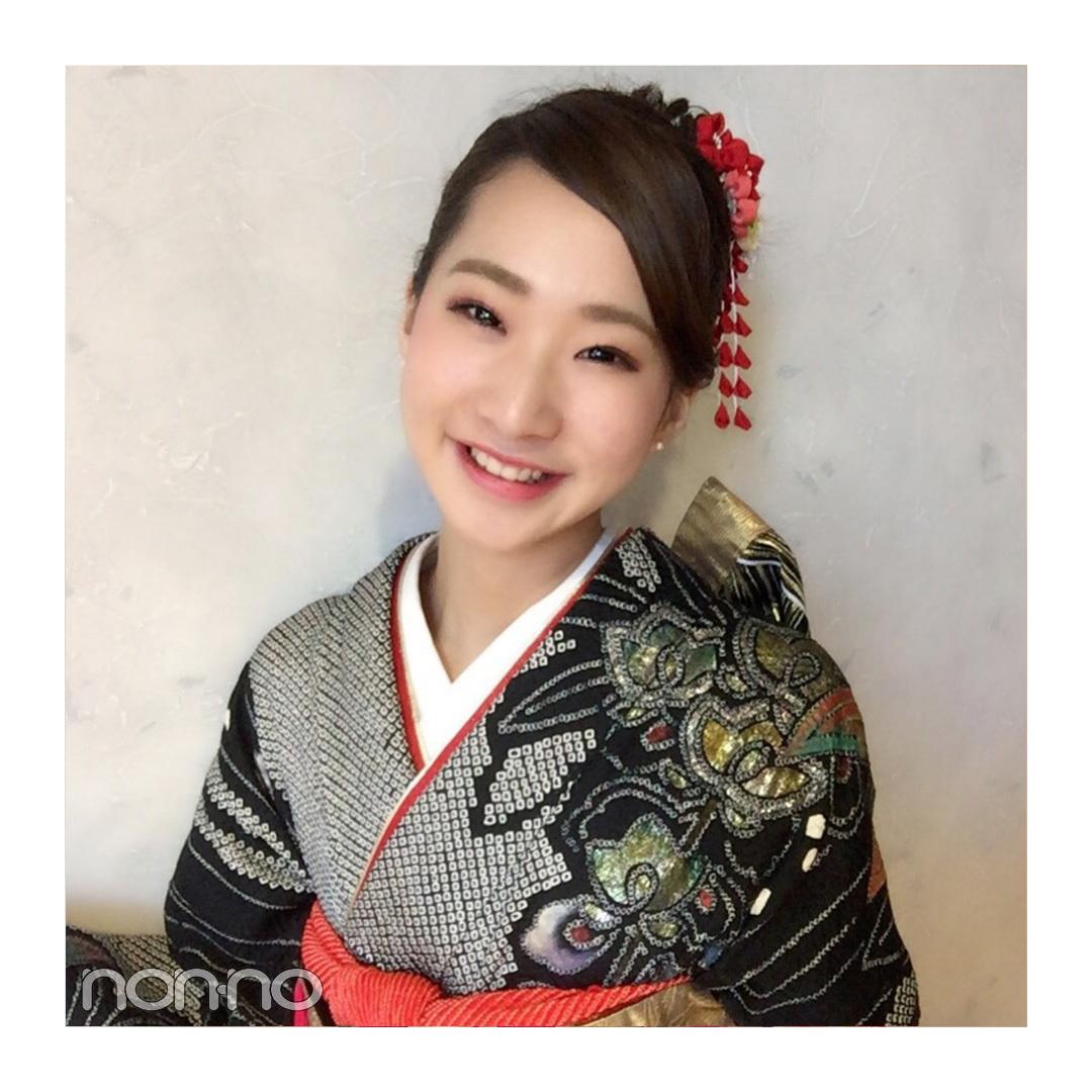 ノンノ専属読モ・カワイイ選抜の着物コーディネイトまとめ♡ 11選_1_1-3