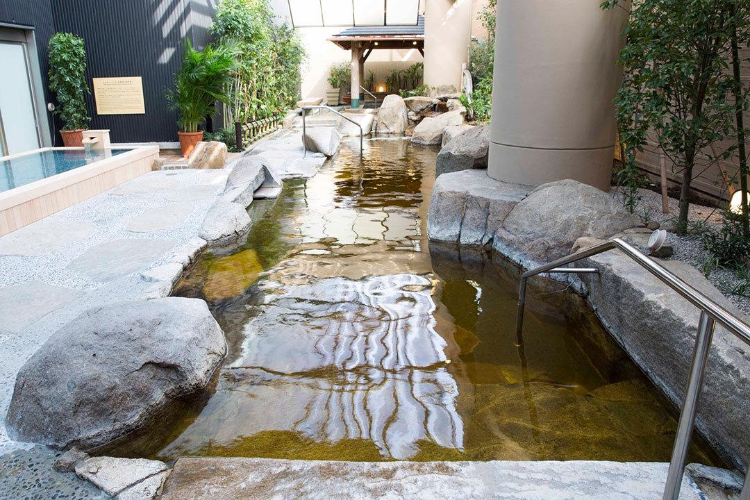 緑茶でもっとキレイになる2018|東京ドーム天然温泉 スパ ラクーア