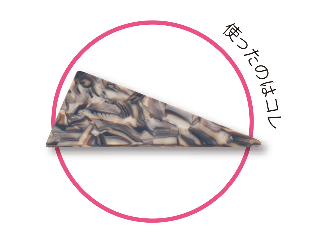 三角バレッタの今っぽい使い方★一つ結びにあわせて可愛く&ラフに!_1_4