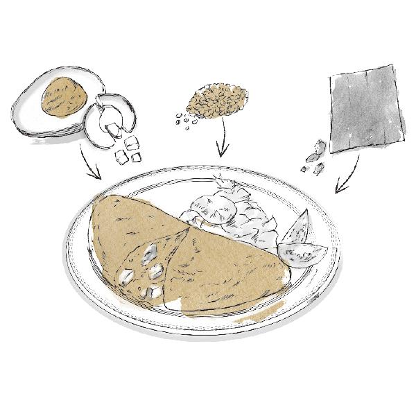 """血糖値を上げずにタンパク質と食物繊維がとれる! 理想の""""第1食目""""レシピ【血糖値コントロール・対策編】_1_1-1"""