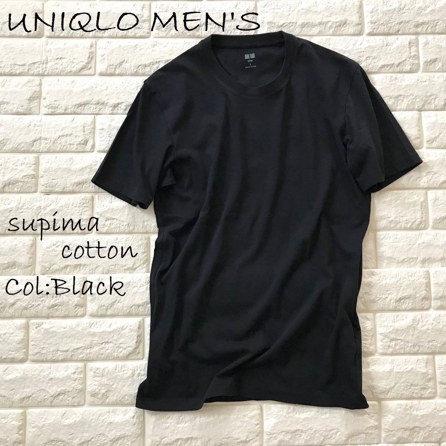 ユニクロメンズTシャツ画像
