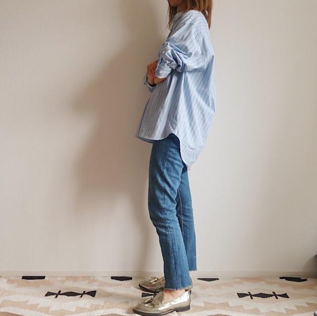 【今1990円】ユニクロユーのゆったりシャツは着るだけでサマになる大人シルエット_1_3
