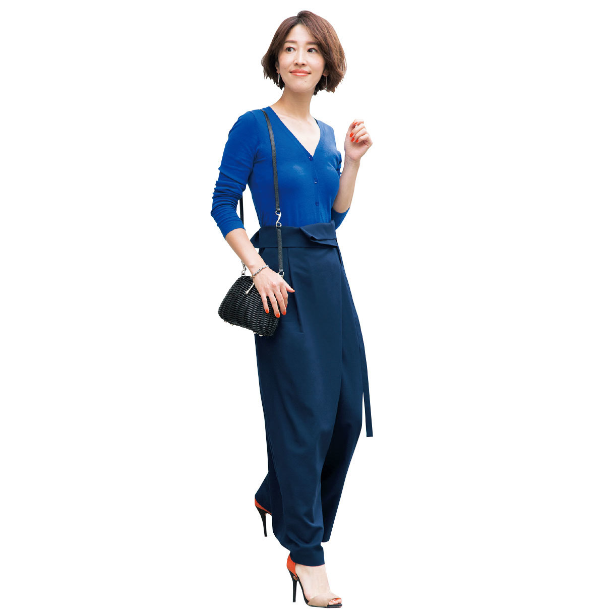 yukieさんのブルー&ネイビースタイル【美女組ファッションSNAP】_1_1-2