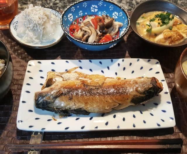■月曜日の鯖の塩焼き定食
