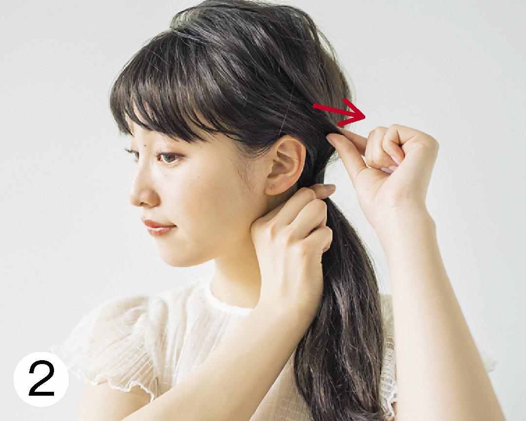 ノンノモデル山田愛奈が美しすぎる! ロングの#彼女感なサイドまとめ髪_1_3-2