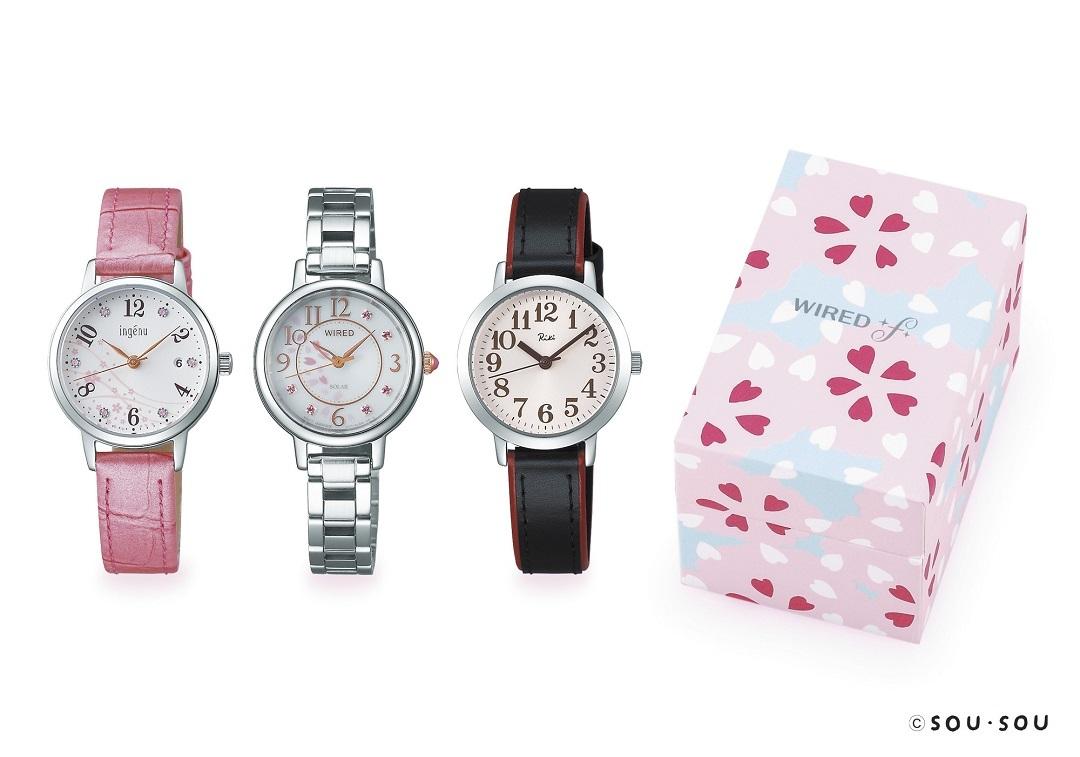 新生活に必要なのは、大人可愛い腕時計♡ セイコーの桜モデル10種類が限定で登場!_1_3