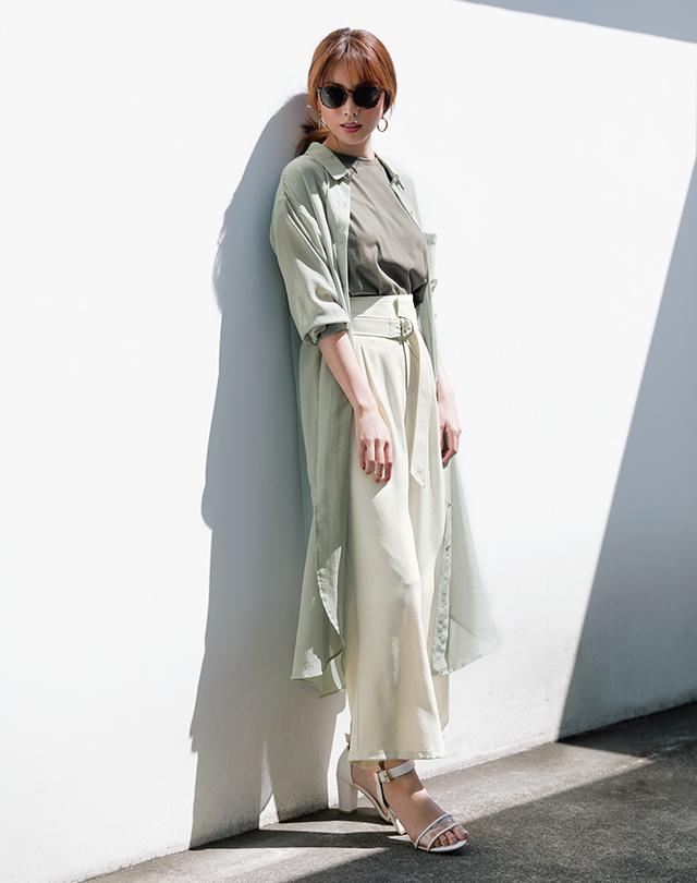 ジャスグリッティーで初夏コーデに華やぎを 今こそ、大人の「着映え服」を手に入れよう_1_3