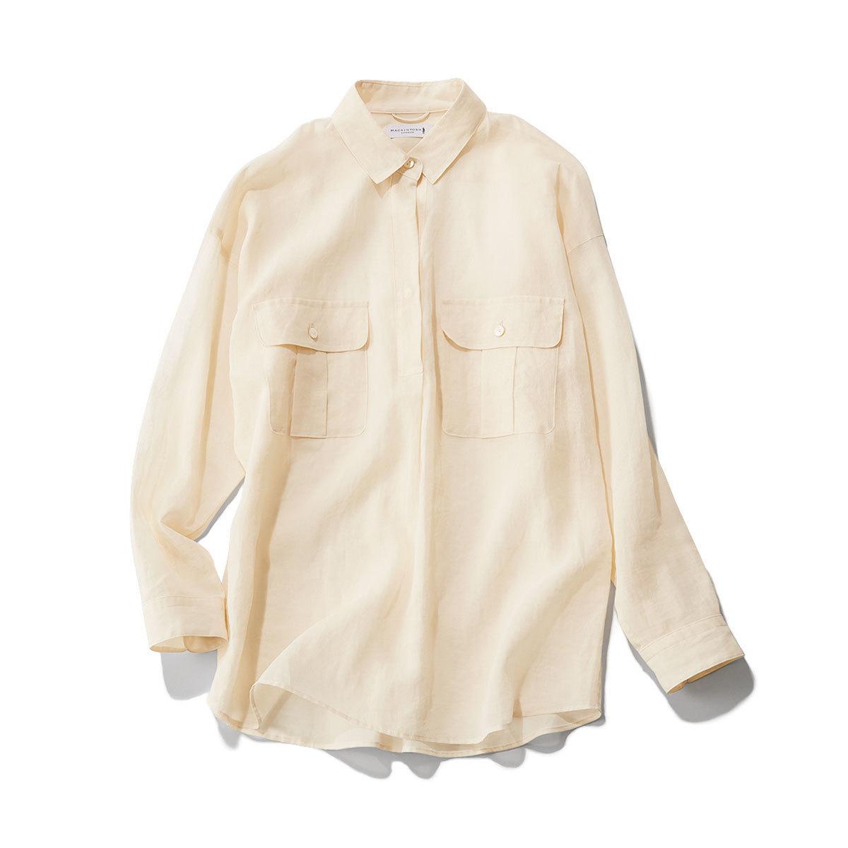 ■マッキントッシュ ロンドンのゆるっとシャツ