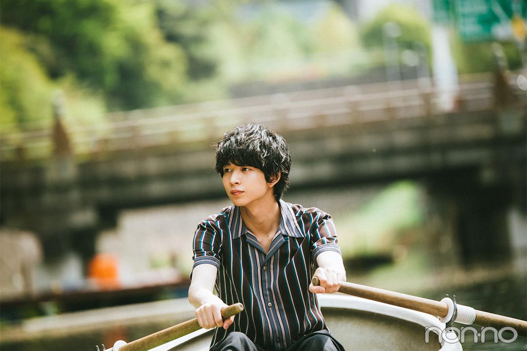 鈴木仁とボートに乗って、2人きりの優しい時間♡【連載「今月の彼氏」ウェブ限定版】_1_1-2