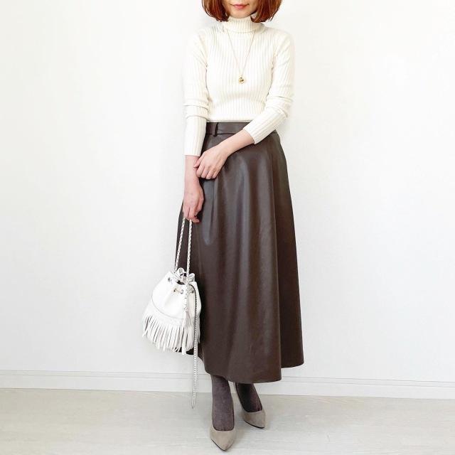 GU本当に買って良かったスカート!【tomomiyuコーデ】_1_6