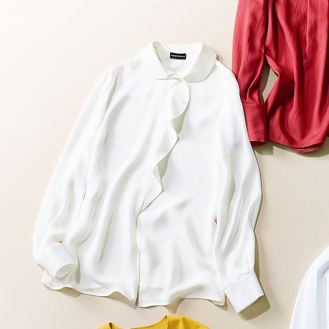 シャツ&ブラウス 白