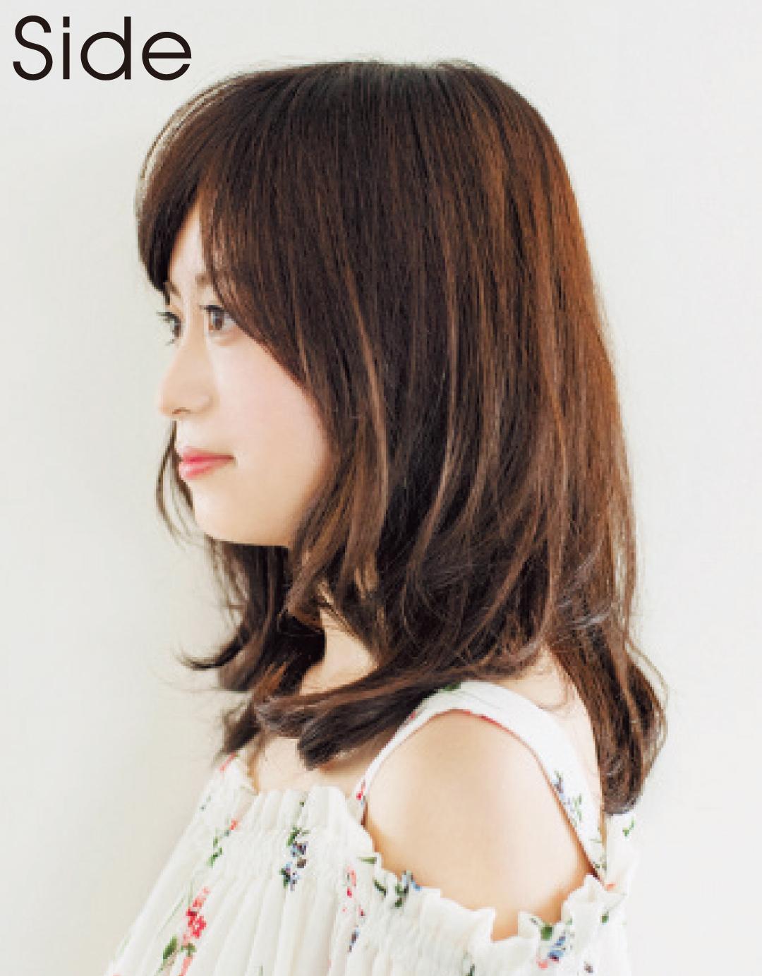 有村架純さんのヘアスタイルを大研究! キュートなミディアムならコチラ♡_1_6-1