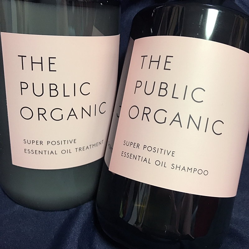 THE PUBLIC ORGANICのスーパーポジティブ