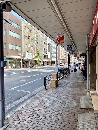 合羽橋商店街の通り