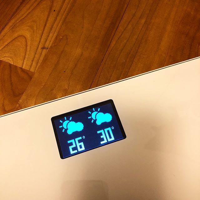 自分の体重を知っておくことが大事!アプリ連動してる便利な体重計を購入しました_1_2