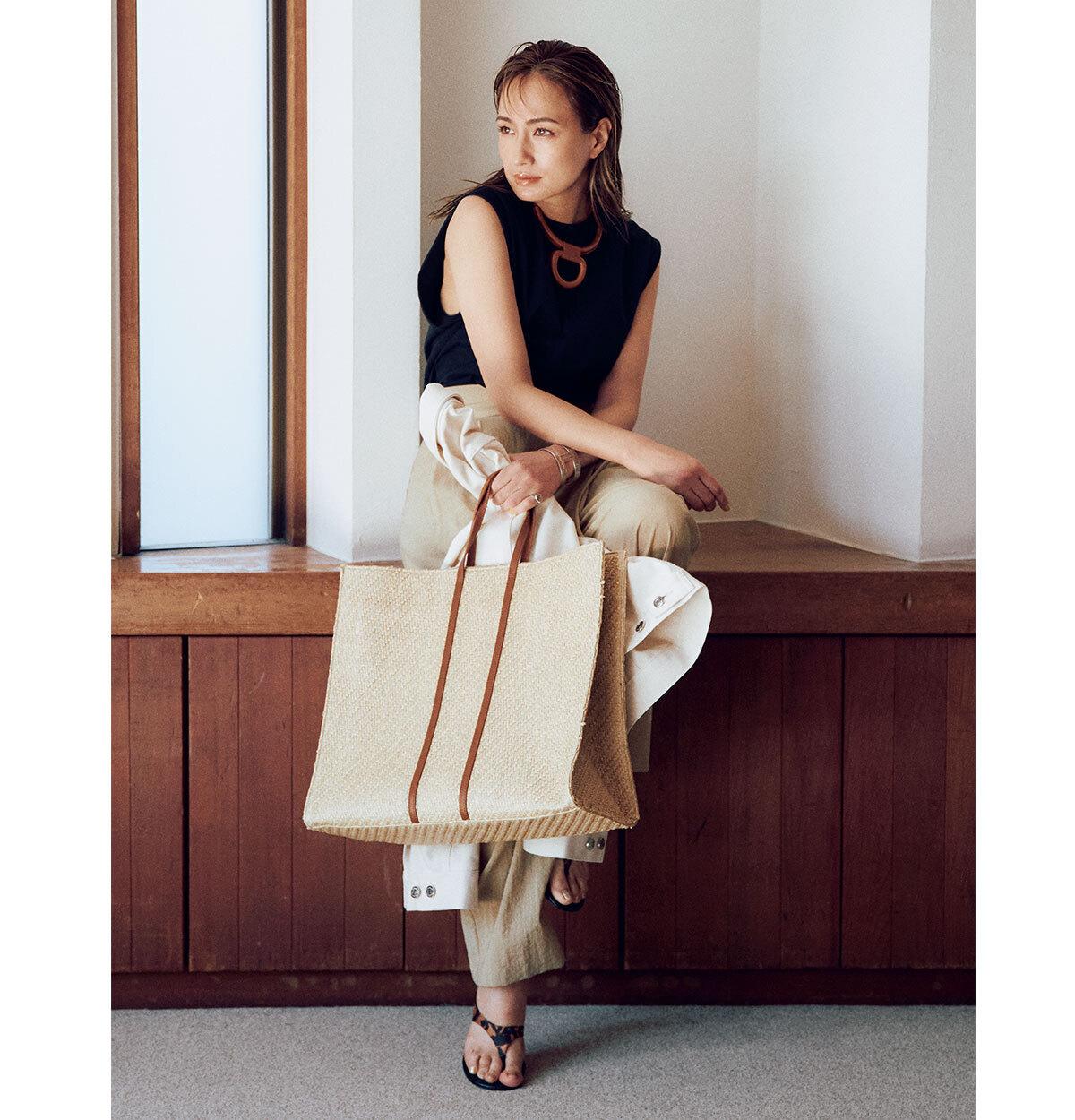 【40代におすすめの夏バッグ】コーデにメリハリを出す2021夏のトレンドバッグとは?|アラフォーファッション_1_10