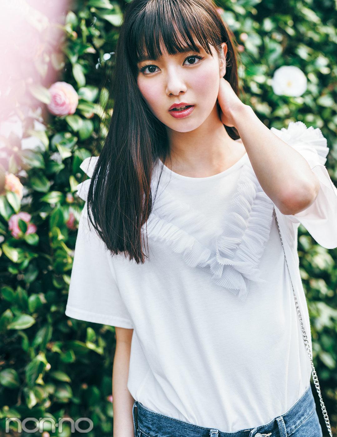 必見! ノンノモデルの最新夏Tシャツ♡ 翼&優愛&優子&友菜&七瀬が総登場!_1_4
