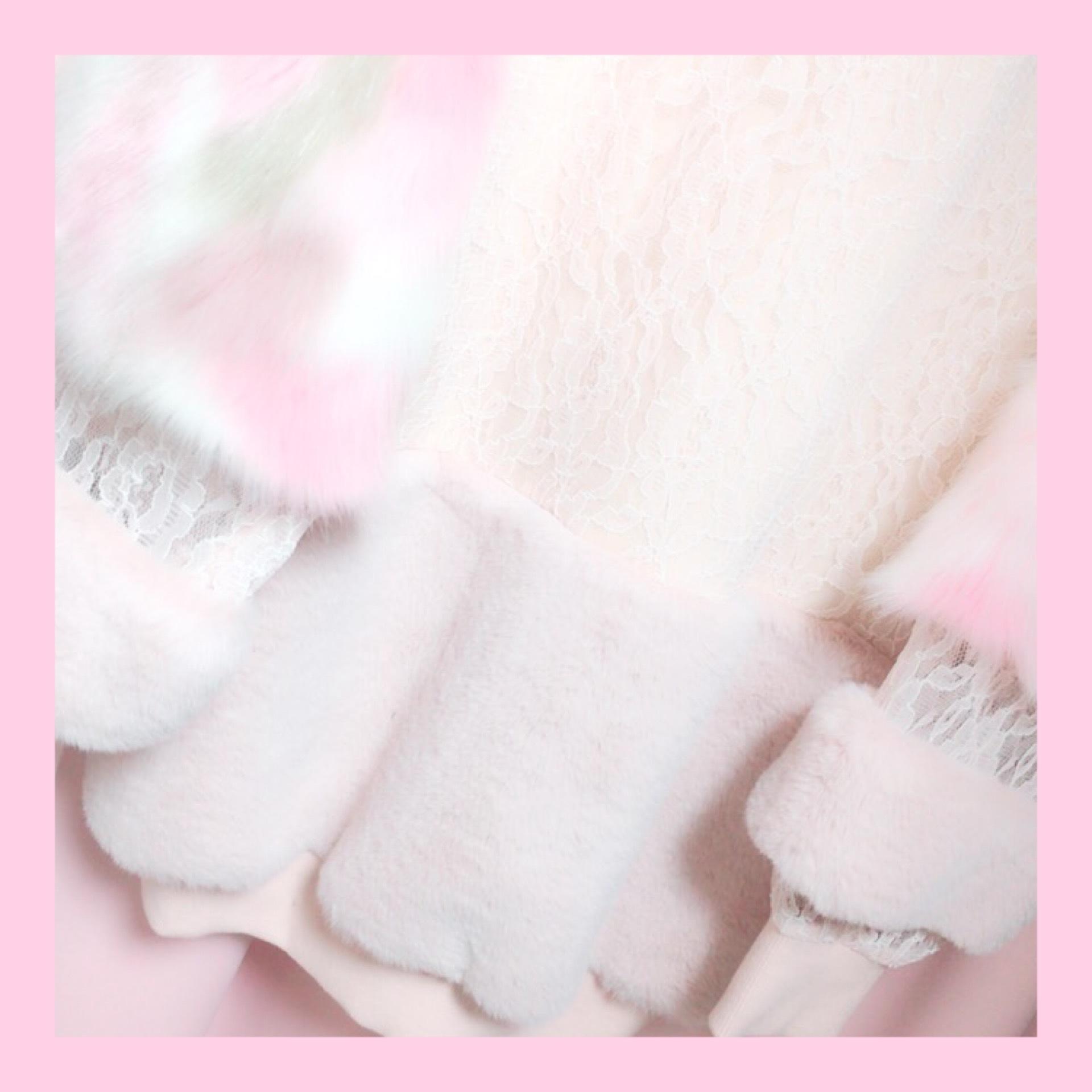 冬の購入品 ❄︎ 『 one spo  ファーワンピ 』_1_2